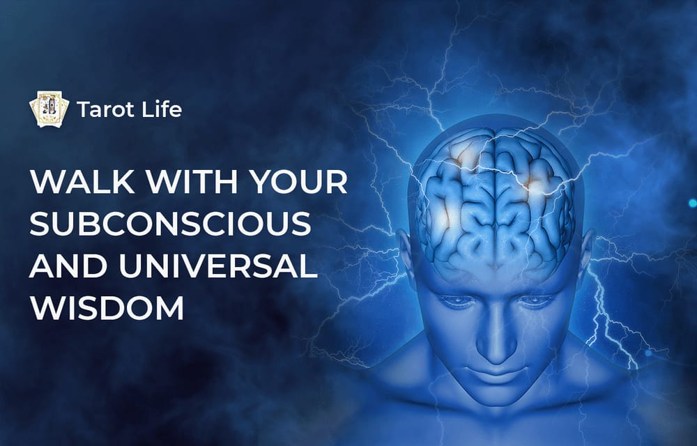 walk with your subconscious and universal wisdom